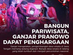 Ganjar Pranowo; Diganjar Penghargaan Trisakti Tourism Award 2021