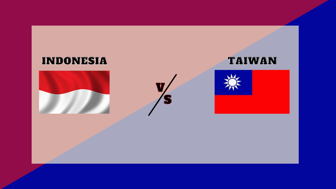 Live Streaming Indonesia vs Taiwan