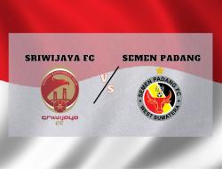 Link Streaming Sriwijaya FC vs Semen Padang